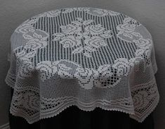 Ravelry: Tea Rose Tablecloth pattern by Kathryn White