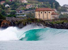 Las mejores olas de Mundaka - España..¡¡¡¡¡uhhhhh #eurosurf #surf