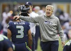 Pete Carroll has his Seattle team at coming into Thursday's game, and this year's Seahawks are one big reminder of what we should have known all along: Pete Carroll's much smarter than he looks. Seahawks Football, Football Is Life, Football Team, Nfl Seattle, Seattle Seahawks, Nfl Coaches, Coach Of The Year, 12th Man, Chicago Bears