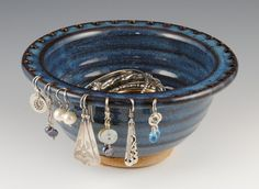 Jewelry Bowl  Earring Holder  Earring Bowl In Stock by nealpottery, $32.00