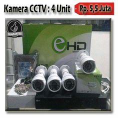 4 Kamera CCTV AHD 1.3MP