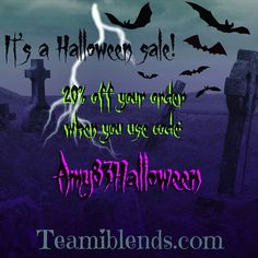 Still time kids... get your @teamiblends #30DayDetox or any of the other awesome products for 20% off with code AMY83HALLOWEEN.  These are the best detox teas around! #thankyouteami #teamiblends #teamicommunitea #naturalweightloss #curbappetite #fightcravings #boostmetabolism #organic #looseleaftea #teami #teatox #lifestyleblogger #atlanta #discountcode