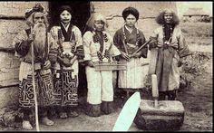minorías étnicas en japón ainu ayer
