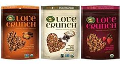 Love Crunch Premium Organic Granola Chocolate Lovers 3 Flavor Variety Bundle 1 Dark Chocolate  Red Berries 1 Dark Chocolate  Peanut Butter  1 Dark Chocolate Macaroon 115 Oz Ea 3 Bags -- Read more  at the image link. Note: It's an affiliate link to Amazon.