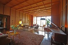 Watzek House Living Room: John Yeon, 1937 NW Regional Modern