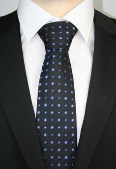 Casa Moda Krawatte extralang Navy Floral 352369702 100
