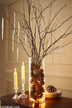 75 Charming Winter CenterpiecesCocoboro | Decoration Ideas !