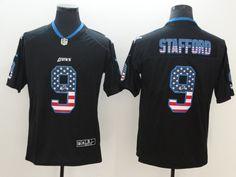 Lions 9 Matthew Stafford USA Flag  Fashion  ColorRush  Limited Jersey Nike  Nfl 22c20eb26