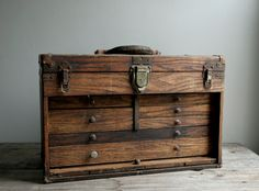 Machinist's Tool Chest. Home decor....