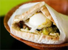 Sabich Pita Sandwich from Taim | Serious Eats : New York