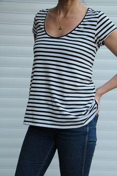 Lola Tee Pattern - Patterns - Tessuti Fabrics - Online Fabric Store - Cotton, Linen, Silk, Bridal & more