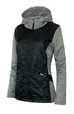 COLUMBIA WOMEN'S CEDAR EXPRESS HYBRID FULL ZIP HOODED JACKET (MEDIUM) #outfitoftheday *** Learn more by visiting the sponsored item link.