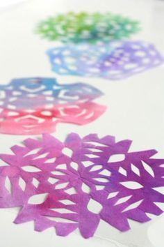 Sneeuwvlokken knippen | DIY Snowflakes