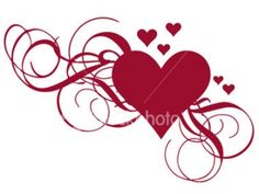 ~~pinned from site directly~~ . . .Girly Heart Tattoo Design