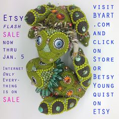 Just a little quickie sale to ring in the New Year. www.byart.com Betsy Youngquist