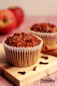 Amélia com Vaidade - Bolo - Muffin - Cupcake de Maçã com Especiarias - Farinha Integral, Kefir, Cravo, Canela, Gengibre, Cardamomo 2
