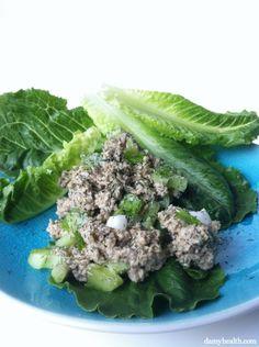 "Raw Vegan ""Tuna"" Salad: This recipe is raw, vegan, dairy free, gluten free, all natural and the perfect tuna salad dupe."