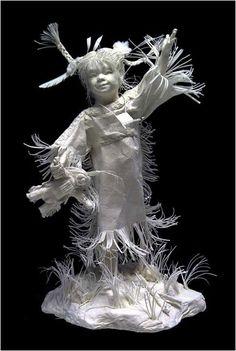 Eckman Fine Art - paper art!