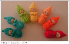 Free Crochet Doll Patterns | Amigurumi Dolls to Crochet | Curly Girl's Crochet Etc.