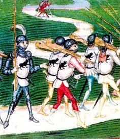 Ethnographic Arms & Armour - XV century powder horn