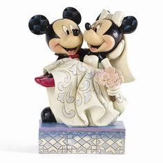 Disney Traditions Mickey & Minnie Wedding Figurine