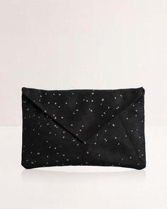 Lee Coren | Envelope Clutch & Strap | Confetti WB. View more at: http://www.leecoren.com/products/envelope-clutch-strap-confetti-wb