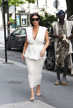 Out shopping in Paris.   - ELLE.com