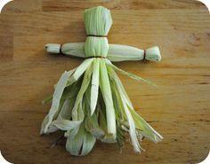 Image result for kids easy cornhusk doll craft