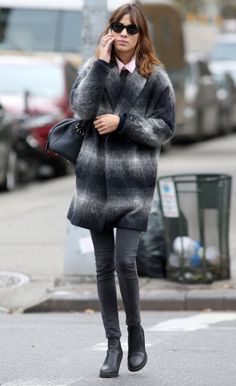 Alexa Chung Photos: Alexa Chung Steps Out in NYC