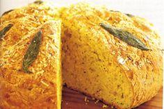Low-fat pumpkin damper with parmesan & sage main image Sage Recipes, Cheese Recipes, Veggie Recipes, Pizza Recipes, Bread Recipes, Tim Tam Cake, Damper Recipe, My Favorite Food, Favorite Recipes