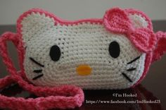 Kitty Purse My favorite purse to make! WOW!!