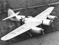 """Bellanca 28-92 Trimotor was a racing aircraft built to compete in the Istres-Damascus-Paris Air Race of 1937, and was paid for by popular subscription in Romania. Christened Alba Julia (""""White Julia"""", registration YR-AHA) it was piloted by Captain Alexander Papana of the Romanian Air Force ."""