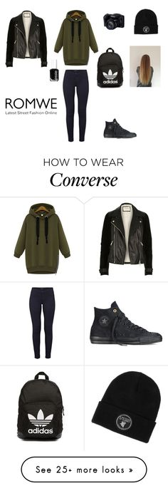 """A day with my new Photograph"" by littlewonder2504 on Polyvore featuring J Brand, Converse, River Island, Essie and adidas Originals"