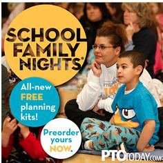 Get info on our FREE School Family Night kits so you can start planning for the fall~