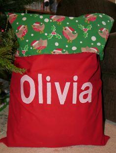 Santas swinging sack