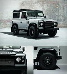 land rover defender black silver pack large 650x719 Land Rover Defender | Black & Silver Edition