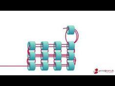 Miyuki Bileklik Yapımı -Kare Örme Tekniği - YouTu be
