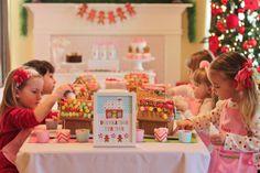 Cute Gingerbread Party Ideas