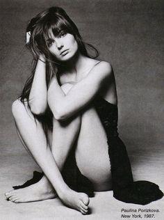 Paulina Porizkova by Patrick DEMARCHELIER (New York,1987)
