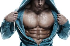 A man with an incredible ripped body!