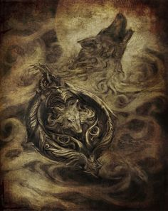 castlevania lords of shadow wolf medallion - Google Search