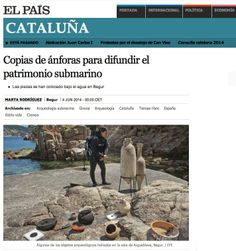 Catalonia's underwater Archaeological Heritage Underwater City, Explore, Underwater, Countries, Cover Pages, City Under The Sea, Exploring