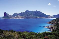 Glorious Hout Bay, just near the amazing Chapman's Peak drive, overlooking the Atlantic Ocean  - Cape Town