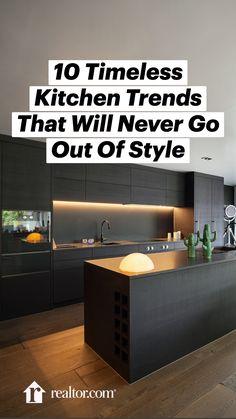 Minimal Kitchen Design, Kitchen Pantry Design, Luxury Kitchen Design, Modern Kitchen Cabinets, Interior Design Kitchen, Modern Kitchen Island, Timeless Kitchen, Kitchen Trends, Küchen Design