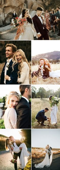 romantic rustic wedding photo ideas