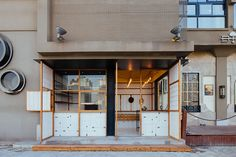 shanghai hot dog shop by linehouse incorporates a wild west theme