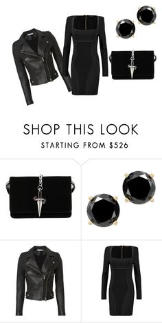 """Untitled #27"" by dadulla on Polyvore featuring Cesare Paciotti, IRO and Balmain"