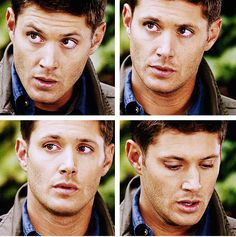 [gifset] Dean - You Can't Handle the Truth Supernatural 9, Supernatural Episodes, Supernatural Seasons, You Look Like, Crazy People, My Forever, Dean Winchester, Jensen Ackles, Tv Series