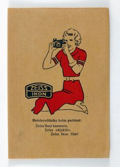 Zeiss Ikon photo envelope for prints | 1930 on eBay