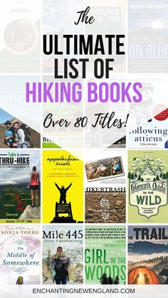 Books About Hiking, Ultimate List of Hiking Books